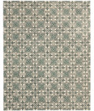RugStudio presents Safavieh Chatham CHT716A Light Blue / Ivory Hand-Tufted, Good Quality Area Rug