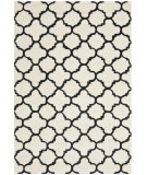 RugStudio presents Rugstudio Sample Sale 94165R Ivory / Black Hand-Tufted, Better Quality Area Rug