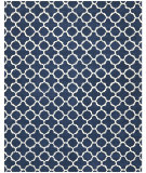 RugStudio presents Safavieh Chatham Cht717c Dark Blue / Ivory Hand-Tufted, Better Quality Area Rug
