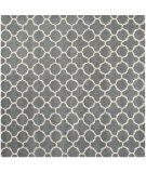 RugStudio presents Safavieh Chatham Cht717d Dark Grey / Ivory Hand-Tufted, Better Quality Area Rug
