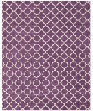 RugStudio presents Safavieh Chatham Cht717f Purple / Ivory Hand-Tufted, Better Quality Area Rug