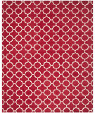 RugStudio presents Safavieh Chatham Cht717g Red / Ivory Hand-Tufted, Better Quality Area Rug