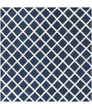 RugStudio presents Safavieh Chatham Cht718c Dark Blue / Ivory Hand-Tufted, Better Quality Area Rug
