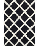 RugStudio presents Safavieh Chatham Cht718k Black / Ivory Hand-Tufted, Better Quality Area Rug
