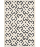 RugStudio presents Safavieh Chatham Cht719d Dark Grey / Ivory Hand-Tufted, Better Quality Area Rug