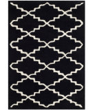 RugStudio presents Safavieh Chatham Cht721k Black / Ivory Hand-Tufted, Good Quality Area Rug