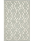 RugStudio presents Safavieh Chatham Cht723e Grey / Ivory Hand-Tufted, Good Quality Area Rug