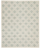 RugStudio presents Safavieh Chatham Cht727e Grey / Ivory Hand-Tufted, Good Quality Area Rug