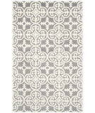 RugStudio presents Safavieh Chatham Cht729d Dark Grey / Ivory Hand-Tufted, Better Quality Area Rug