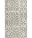 RugStudio presents Safavieh Chatham Cht729n Silver - Ivory Hand-Tufted, Good Quality Area Rug