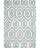 RugStudio presents Safavieh Chatham Cht731b Blue / Ivory Hand-Tufted, Better Quality Area Rug