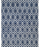 RugStudio presents Safavieh Chatham CHT731C Dark Blue / Ivory Area Rug