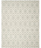 RugStudio presents Rugstudio Sample Sale 94216R Grey / Ivory Hand-Tufted, Better Quality Area Rug