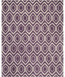 RugStudio presents Safavieh Chatham CHT731F Purple / Ivory Area Rug
