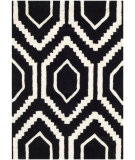 RugStudio presents Safavieh Chatham Cht731k Black / Ivory Hand-Tufted, Better Quality Area Rug