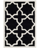 RugStudio presents Safavieh Chatham Cht732k Black / Ivory Hand-Tufted, Better Quality Area Rug