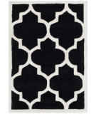 RugStudio presents Safavieh Chatham Cht733k Black / Ivory Hand-Tufted, Better Quality Area Rug