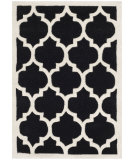 RugStudio presents Safavieh Chatham Cht734k Black / Ivory Hand-Tufted, Better Quality Area Rug