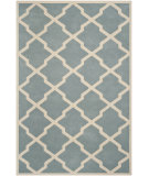 RugStudio presents Safavieh Chatham CHT735B Blue / Ivory Area Rug