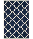 RugStudio presents Safavieh Chatham CHT735C Dark Blue / Ivory Area Rug