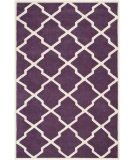 RugStudio presents Safavieh Chatham CHT735F Purple / Ivory Area Rug