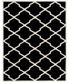 RugStudio presents Safavieh Chatham CHT735K Black / Ivory Area Rug