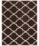 RugStudio presents Safavieh Chatham CHT735R Dark Brown / Ivory Area Rug