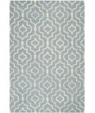 RugStudio presents Safavieh Chatham CHT736B Blue / Ivory Hand-Tufted, Better Quality Area Rug