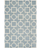 RugStudio presents Safavieh Chatham CHT737B Blue / Ivory Area Rug
