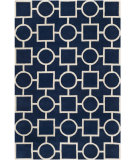 RugStudio presents Safavieh Chatham CHT737C Dark Blue / Ivory Area Rug