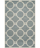 RugStudio presents Safavieh Chatham CHT739B Blue / Ivory Area Rug