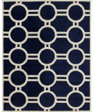 RugStudio presents Safavieh Chatham CHT739C Dark Blue / Ivory Area Rug