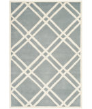 RugStudio presents Safavieh Chatham CHT740B Blue / Ivory Area Rug