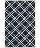 RugStudio presents Safavieh Chatham CHT740C Dark Blue / Ivory Area Rug