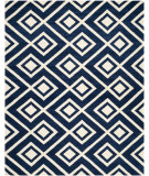 RugStudio presents Safavieh Chatham CHT742C Dark Blue / Ivory Area Rug