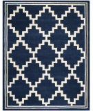 RugStudio presents Safavieh Chatham CHT743C Navy / Ivory Area Rug
