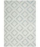RugStudio presents Safavieh Chatham Cht744e Grey / Ivory Hand-Tufted, Better Quality Area Rug