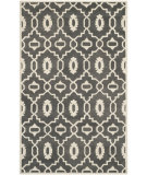 RugStudio presents Rugstudio Sample Sale 107928R Dark Grey / Ivory Hand-Tufted, Better Quality Area Rug