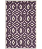 RugStudio presents Safavieh Chatham Cht745f Purple / Ivory Hand-Tufted, Better Quality Area Rug