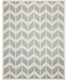 RugStudio presents Safavieh Chatham Cht746b Blue / Ivory Hand-Tufted, Better Quality Area Rug