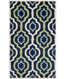 RugStudio presents Safavieh Chatham Cht747c Dark Blue / Multi Hand-Tufted, Better Quality Area Rug
