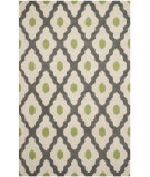 RugStudio presents Safavieh Chatham Cht748d Dark Grey / Ivory Hand-Tufted, Better Quality Area Rug