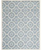 RugStudio presents Safavieh Chatham Cht750b Blue / Ivory Hand-Tufted, Better Quality Area Rug