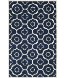 RugStudio presents Safavieh Chatham Cht750c Dark Blue / Ivory Hand-Tufted, Better Quality Area Rug