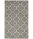 RugStudio presents Safavieh Chatham Cht750d Dark Grey / Ivory Hand-Tufted, Better Quality Area Rug