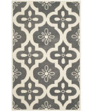 RugStudio presents Safavieh Chatham Cht751d Dark Grey / Ivory Hand-Tufted, Better Quality Area Rug