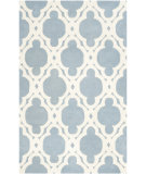 RugStudio presents Safavieh Chatham Cht762b Blue - Ivory Hand-Tufted, Best Quality Area Rug