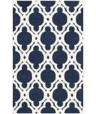 RugStudio presents Safavieh Chatham Cht762c Dark Blue - Ivory Hand-Tufted, Best Quality Area Rug