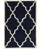 RugStudio presents Safavieh Chatham Cht940j Dark Blue Hand-Tufted, Better Quality Area Rug