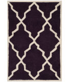 RugStudio presents Safavieh Chatham Cht940p Dark Purple Hand-Tufted, Better Quality Area Rug